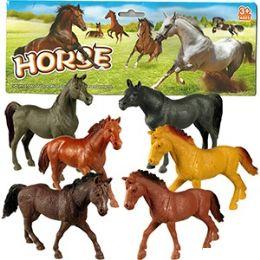 48 of 6 Piece Vinyl Horses