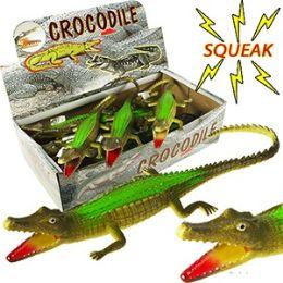 108 of Vinyl Green Crocodiles With Squeakers