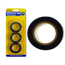 144 of 3 Piece Electric Tape