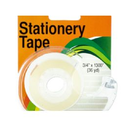 72 of Clear Stationery Tape in Dispenser
