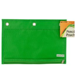 72 of Zippered Pencil Pouch For 3-Ring Binders