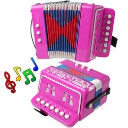 12 of Child's Accordion - Pink.