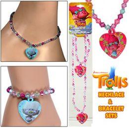 72 of Dreamwork's Trolls Necklace & Bracelet Sets