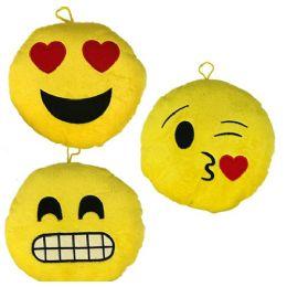 24 of Plush Emojis