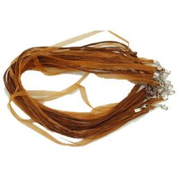 288 of Brown Necklace Ribbon Cord