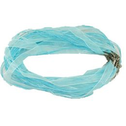288 of Blue Necklace Ribbon Cord