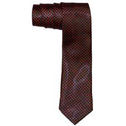 96 of Men's Black And Red Polka Dot Slim Tie