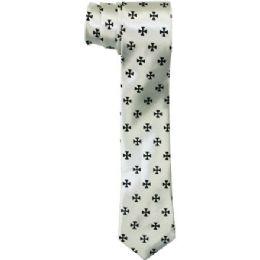 72 of Men's Sim Silver Tie