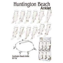 96 of Huntington Beach Anklet With Charms