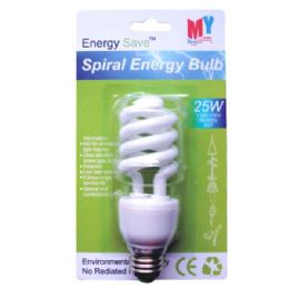 100 of Spiral Energy Bulb 25w