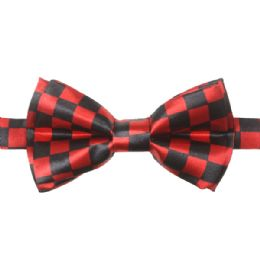 72 of Kid Bowtie 516 Red Checkered