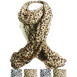 36 of Cheetah Style Fashion Scarf In Assorted Colors