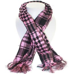 36 of Palestine Scarves In Pink And Black