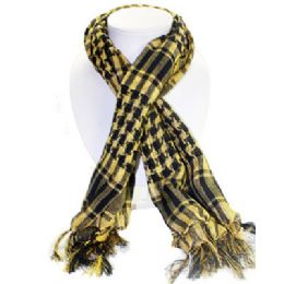 36 of Palestine Scarves In Yellow And Black