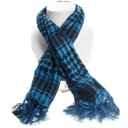 36 of Palestine Scarves In Blue And Black