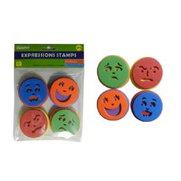 48 of Craft Foam Expression Stamps 4pc