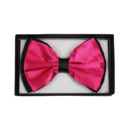 48 of Bowtie 027 Two Tone Hot Pink