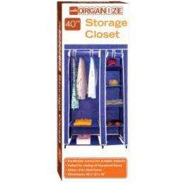 5 of Storage Closet Navy Blue