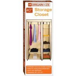 5 of Storage Closet Beige And Brown