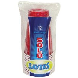 24 of Solo Plastic Cup 12 Count 16 Ounce