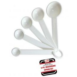 144 of 5 Piece Measuring Spoon Set