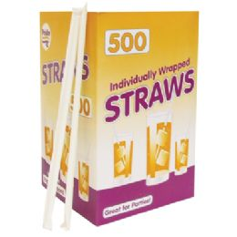 12 of 500 Count Drinking Straw