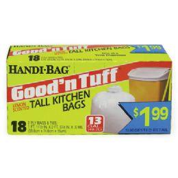 12 of Handi Bag Good & Tuff Trash Bag
