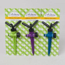 24 of Sprinkler Rotary 8.86in L Green/blue/purple Garden Tcd/60g