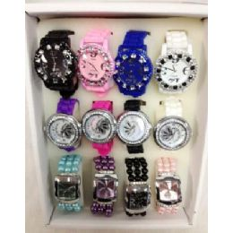 80 of Wholesale Bulk Lot Watches Silicone Fashion Watches