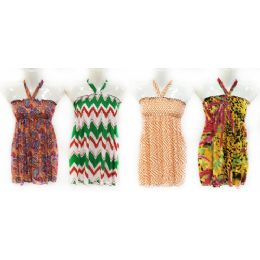 12 of Girls Summer Sun Dress Tube Style With Neck Strap