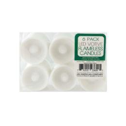 18 of Flameless Small Led Votive Candles Set