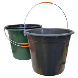24 of Plastic Pail With Metal Handle