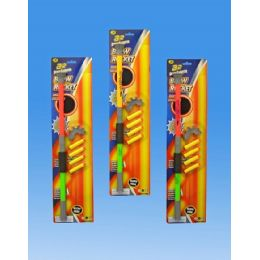 48 of Air Dart Shooter Blow Rocket In Blister