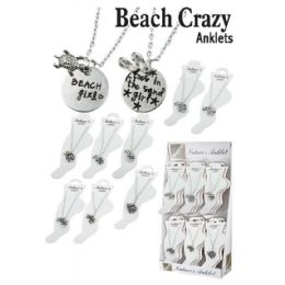 36 of Beach Crazy Anklets
