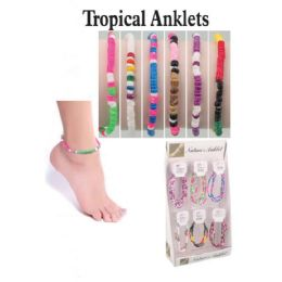 72 of Tropicals Anklets