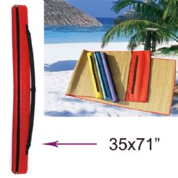 """36 of 35""""x71"""" Beach Mat"""