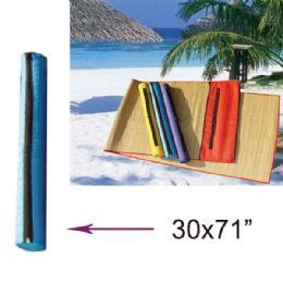 """36 of 30""""x71"""" Beach Mat"""