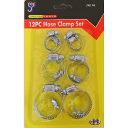 72 of 12 Pc Hose Clamps