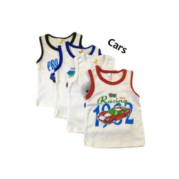60 of Strawberry Boys Infant Tank Top