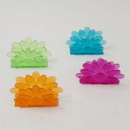 72 of Napkin Holders Flower Shape