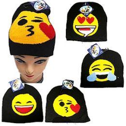 72 of Knit Emoji Beanie Ski Cap.