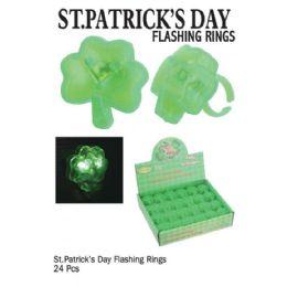 24 of St. Patricks Day Flash Rings