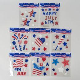 72 of Gel Stickers Patriotic