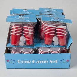 48 of Mini Party Beer Pong Set