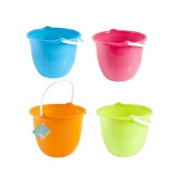 36 of Bucket W/handle Bright Colors