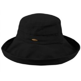 12 of Cotton Canvas Sun Cloche Hats In Black
