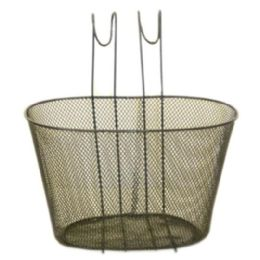12 of Black Wire Basket For Bike 30x23x19cm