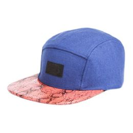 12 of Wool Blend Five Panel Cap