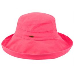 12 of Cotton Canvas Sun Cloche Hats In Hot Pink
