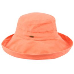 12 of Cotton Canvas Sun Cloche Hats In Light Coral
